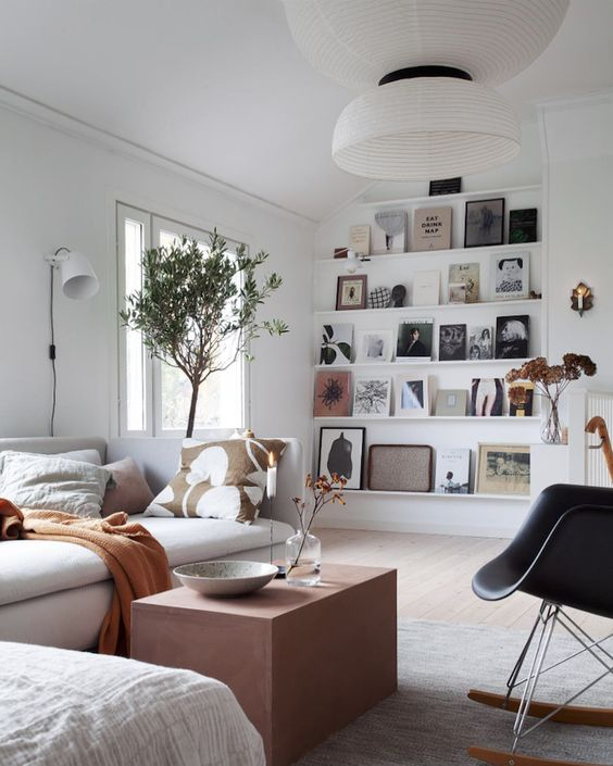 Scandinavian living area